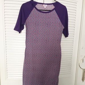 LulaRoe purple dress